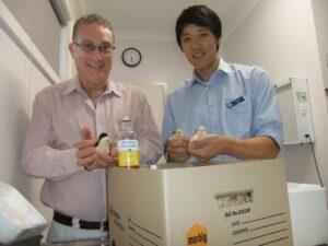 Poultry vet, chicken vet, MAreks Vaccination